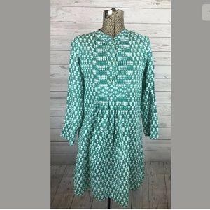 Roberta roller rabbit size small turquoise dress